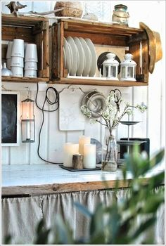 It is always critical to design your outdoor kitchen with the style of your house in mind, it's even more crucial when it's actually connected to the home. Rustic Outdoor Kitchens, Outdoor Kitchen Design, Rustic Kitchen, Country Kitchen, Kitchen Dining, Kitchen Cabinets, Kitchen Ideas, Küchen Design, House Design