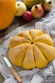 Pane alla zucca soffice. Pumpkin bread recipe