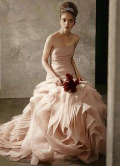 Pink Ruffles by Vera Wang