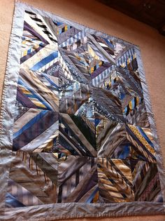 Necktie quilt. This one I like...