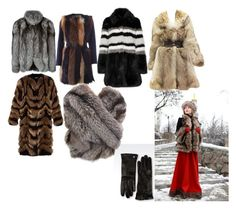 """fur"" by olikoliko on Polyvore featuring N.Peal, BLANCHA, AINEA, Alexander McQueen, Alberta Ferretti, Armani Collezioni, women's clothing, women, female and woman"