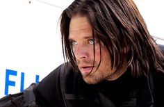 Sebastian ⭐ Stan........His eyes in this pic tho!!! They're so blue. I've never noticed.