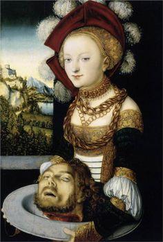 Salome - Lucas Cranach the Elder