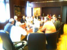 Συνάντηση με το σωματείο των ναυπηγίων Νεωρίου Σύρου (31/5/2012)
