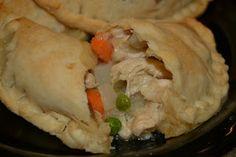 Chicken Pot Pie Handpies