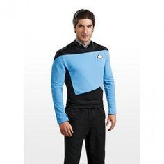 Pánská uniforma Star Trek The Next Generation modrá