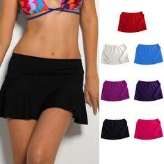 3d9752806e3fb Women Swim Cover Up Bikini Swimwear Short Skirt Bikinis Beach Mini #fashion  #clothing #