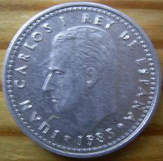 Collectable Coins - 1986 Circulated Espagne/Spain 1 Peseta Cu/nickel