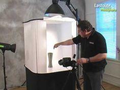 Using the Lastolite Studio Cubelite