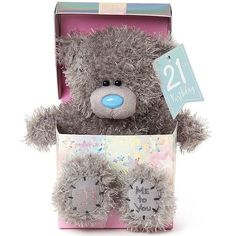 This Me to You Birthday teddy bear is a perfect keepsake gift for friends or relatives on this landmark birthday. Order your Birthday Tatty Teddy online for fast UK delivery.