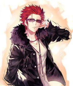 Mikoto Suoh (le roi rouge)