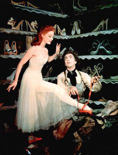 "Moira Shearer in ""The Red Shoes"" (Michael Powell and Emeric Pressburger, 1948)"