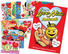 LOVE NOTE POSTCARDS BOOK