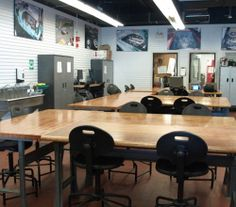 An electrical lab used for the Traditional Automotive Apprecnticeships Centennial College, Transportation, Lab, Conference Room, Traditional, Furniture, Home Decor, Homemade Home Decor, Meeting Rooms