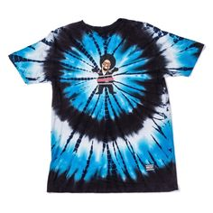 Buy Grizzly Hyphy Bear T-Shirt Blue Tie-Dye at Europe's Sickest Skateboard Store Size S Skateboard Store, Skateboard Fashion, Mac Dre, Longboard Shop, Bear T Shirt, Blue Tie Dye, Tees, Shirts, Skateboards