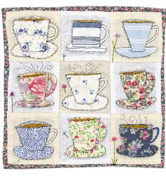 Tea Cups - cute tablecloth for an afternoon tea with a special friend.