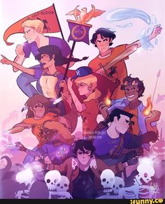 NO but, the reason annabeth chase and Percy Jackson are unknown is because they are still in tartarus!