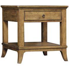 Hooker Furniture Shelbourne Wood End Table