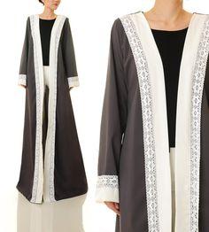 90a3d5960e9f4d Grey Kimono Cardigan Maxi Cardigan