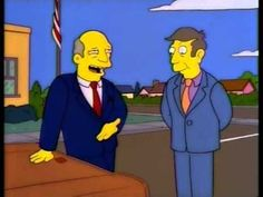 Superintendent Chalmers and Principal Skinner's best moments on the Simpsons. Goat Cartoon, Cartoon Tv, Seymour Skinner, Futurama, Batman, The Simpsons, Lisa Simpson, Short Film, Winnie The Pooh