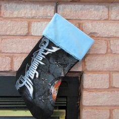 Dragonforce Christmas Stocking DIY Power Metal Christmas Z2 by DarkStormDesign on Etsy