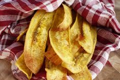 Plantain Chips (Baked Strips) #paleo #healthysnacks #plantain #chips