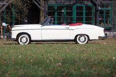 Rares Cabrio: 1960 Mercedes-Benz 220 SE Cabriolet: Frisch restaurierter…