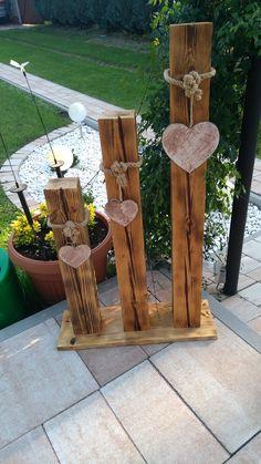Diy Crafts For Home Decor, Outdoor Crafts, Diy Garden Decor, Outdoor Projects, Garden Projects, Wood Log Crafts, Birch Wedding, Chicken Crafts, Country Art