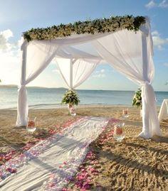 Bamboo Wedding Arch/Beach Wedding Arch/Bamboo Chuppah/Wedding Arch Fabric Draping/Beach Weddings/Beach Wedding Decorations/Bamboo Arbor | Beautiful ... & Bamboo Wedding Arch/Beach Wedding Arch/Bamboo Chuppah/Wedding Arch ...