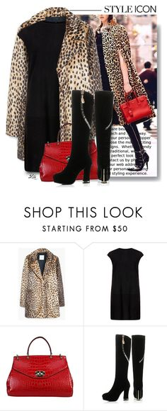 """""""How to wear - Leopard print"""" by fashion-architect-style ❤ liked on Polyvore featuring MANGO, MuuBaa, JY Shoes, women's clothing, women's fashion, women, female, woman, misses and juniors"""