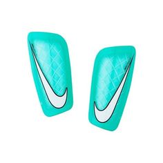 The Nike Mercurial Lite Soccer Shin Guards are designed with a tough yet lightweight shell to help guard against the impacts of the game. A breathable, contoured sleeve offers a comfortable, secure fi