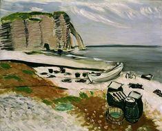 Henri Matisse (1869-1954) Étretat.