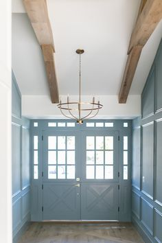 Home Bunch Interior Design Ideas Door Paint Colors, Interior Paint Colors, Paint Colors For Home, House Colors, Interior Design, Ranch Homes For Sale, Basement Painting, Entryway Stairs, Accent Wall Colors