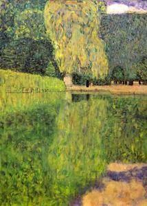 Park of Schönbrunn, 1916 - Private Collection - (Gustav Klimt)