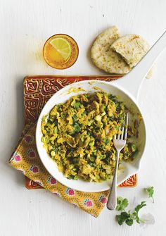 "Curried eggs or ""Nanny's eggs"", a recipe from one of our readers. Find in issue 14."