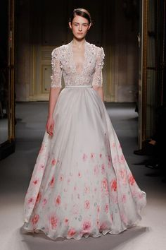 georges-hobeika-haute-couture-spring-2013 floral dresses