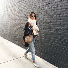Jules looking effortless in our Florence Cardi! ❤️/ www.shopsincerelyjules.com