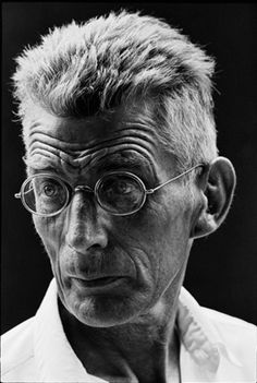 Samuel Beckett, New York, 1964, by Steve Schapiro