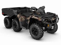 New 2016 Can-Am Outlander 6x6 XT 1000R ATVs For Sale in New Hampshire. 2016 Can-Am Outlander 6x6 XT 1000R, The tougher the terrain is, the better the characteristics of the Outlander 6x6 XT display. It sets a new standard in the segment by reaching previously impassable destinations.