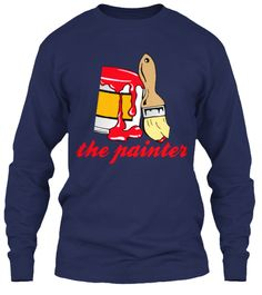 The Painter Navy T-Shirt Front