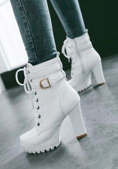 c1f062c6b7b Available Sizes   Shaft Height   Heel Height   Platform Height   Heel  Height   High Heel Type   Chunky Boot Shaft   Ankle Color   White Toe    Round Shoe ...