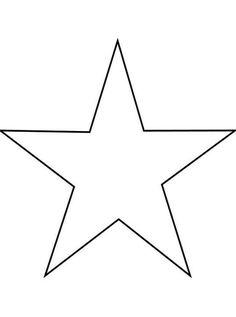 Stern Vorlage Zum Ausschneiden A4