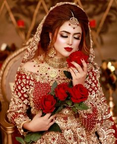 Black Bridal Dresses, Desi Wedding Dresses, Bridal Outfits, Beautiful Indian Brides, Beautiful Pakistani Dresses, Pakistani Bridal Makeup, Pakistani Bridal Dresses, Bridal Makeup Looks, Bridal Beauty