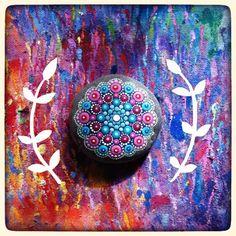 Mandala Rock Art by Elspeth McLean