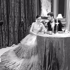 """meltatan on Instagram: """"Behind the scene photoshoot for Hello! Indonesia @hello_indonesia Collection: @provocatebymeltatan Make up by: MAC Venue by: @davincindonesia Catch this September 2015 issue for the ultimate romance inspiration from @hello_indonesia #meltatan #design #gown #ballgown #dress #lace #gold #embroidery #photo #model #fairytale #romance #love #style #fashion #thisisnow"""""""