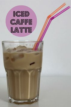 Selfmade Iced Caffe Latte.