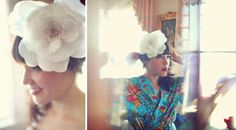 robe!!Real Wedding: Jessica + Tyler's Intimate Monterey Wedding