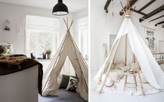 60 fascinantes tiendas de campaña para habitaciones infantiles | DECOFILIA.com