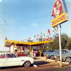 My sister used to work at the local Dog n' Suds as a carhop.