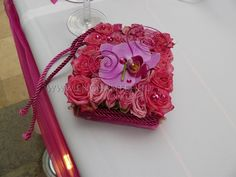 """Unusual ring """"holder"""" pillow desing and flowers from Enchantée Weddings"""